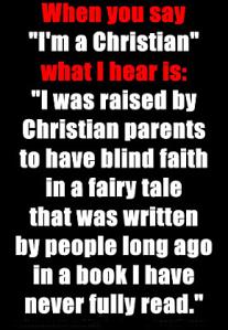 Blind faith, Frank's Cottage, faith
