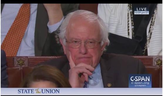 Grumpy Bernie